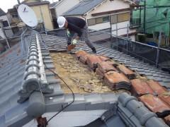 渡辺邸屋根葺き替え工事 (5)