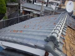 渡辺邸屋根葺き替え工事 (6)