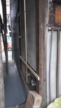 古市邸倉庫外壁改修工事1