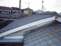 渡辺邸屋根葺き替え工事 (2)