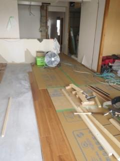 嶋邸改装工事1